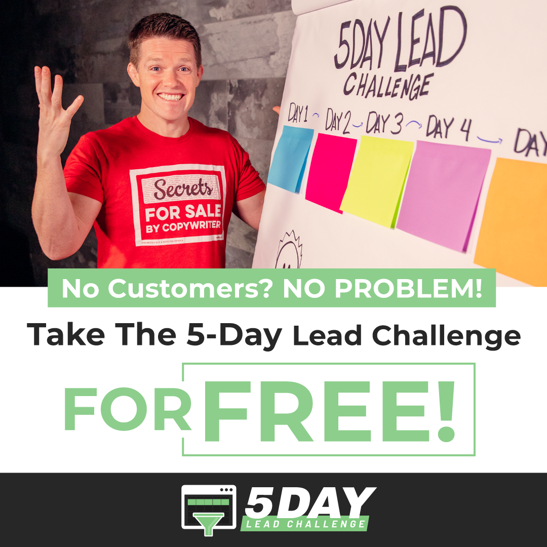 5-day lead challenge banner image